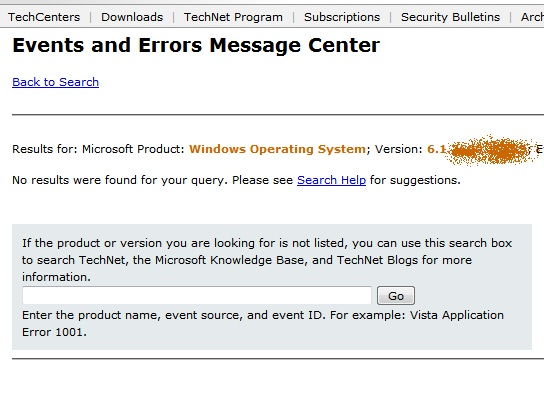 What do those Windows error codes mean?